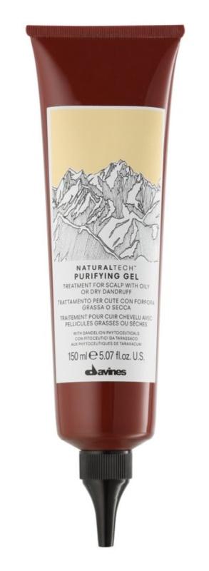 Davines Naturaltech Purifying leczenie skóry głowy tłustej lub suchej z łupieżerm