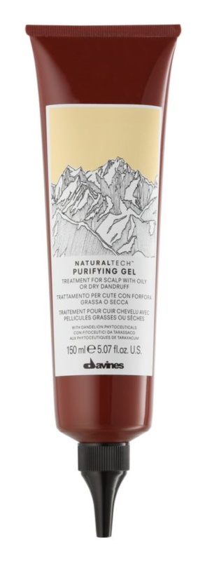 Davines Naturaltech Purifying ošetrenie pre vlasovú pokožku s mastnými alebo suchými lupinami