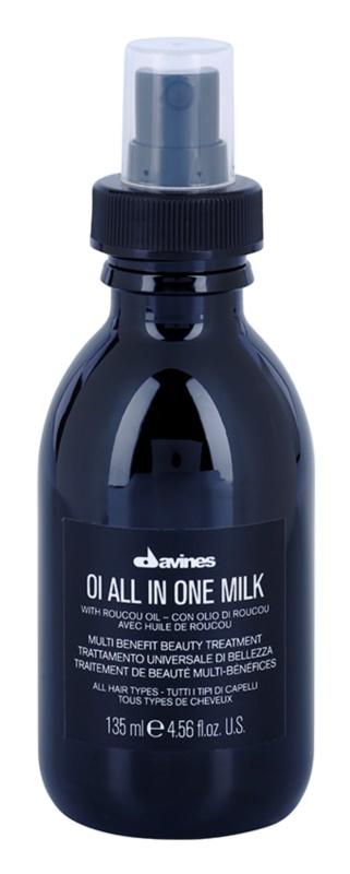 Davines OI Roucou Oil leite multifuncional para cabelo