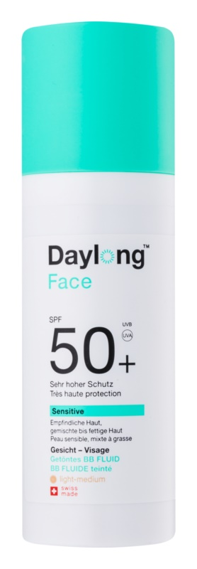 Daylong Sensitive Bräunungs-Fluid zum Tönen SPF 50+