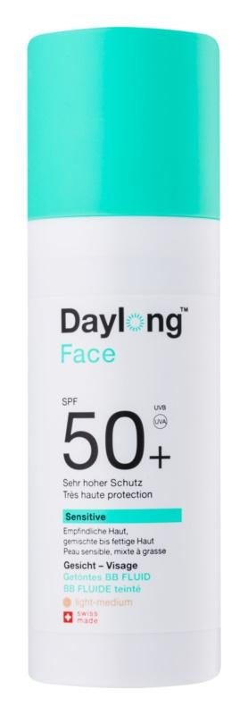 Daylong Sensitive fluid pentru tonifierea bronzului SPF 50+