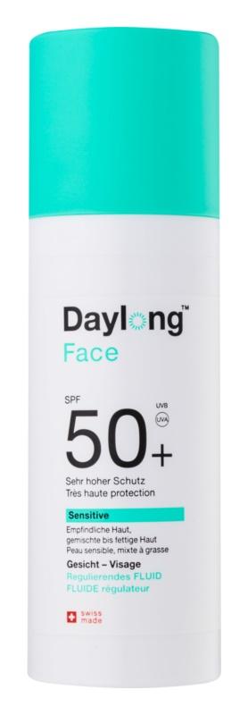 Daylong Sensitive флюїд для засмаги для шкіри обличчя SPF 50+
