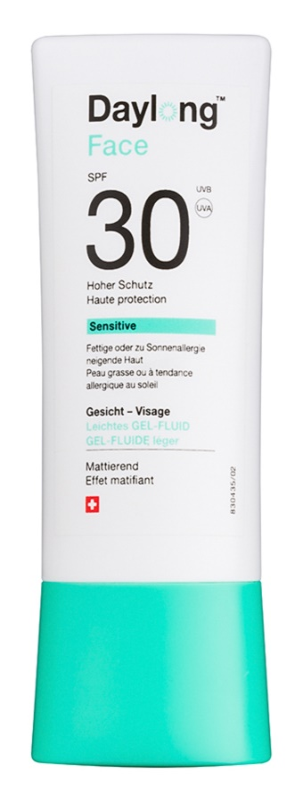 Daylong Sensitive gel-fluido protetor para o rosto SPF 30