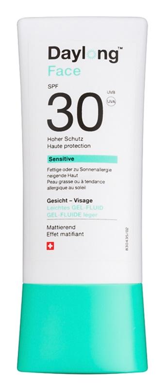 Daylong Sensitive ochranný gel-fluid na obličej SPF 30