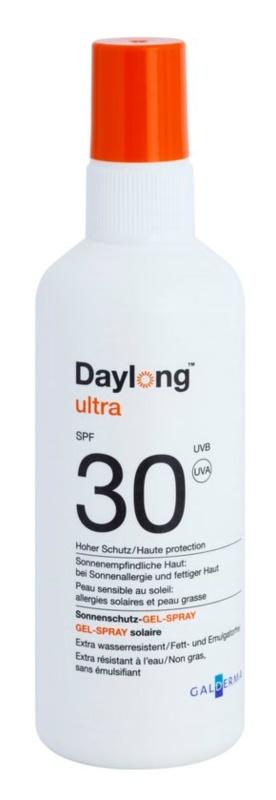 Daylong Sensitive schützendes Gel-Spray für fettige und empfindliche Haut SPF30
