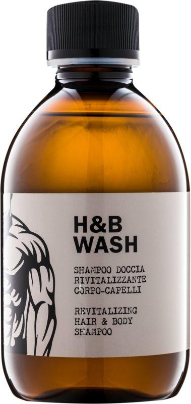 Dear Beard Shampoo H & B Wash σαμπουάν και αφρόλουτρο  2 σε 1