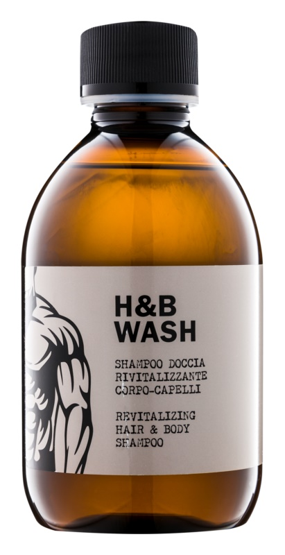 Dear Beard Shampoo H & B Wash Shampoo en Douchegel 2in1