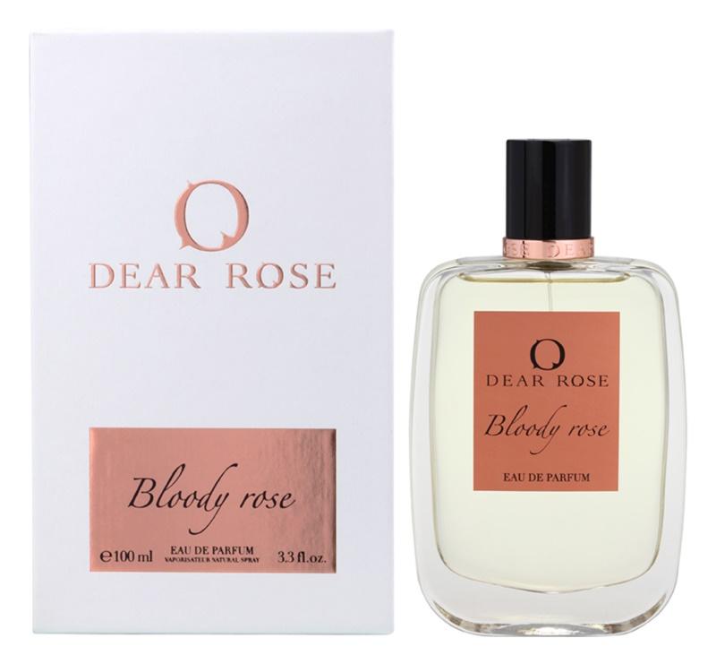 Dear Rose Bloody Rose eau de parfum per donna 100 ml