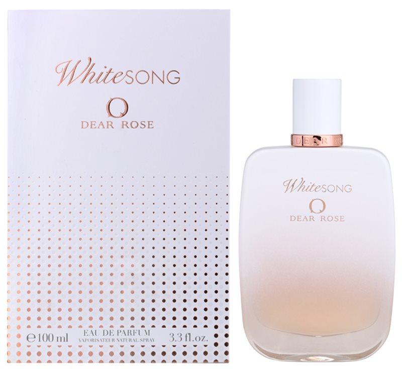 Dear Rose White Song eau de parfum pentru femei 100 ml