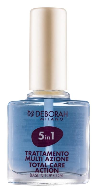 Deborah Milano Nail Care podkladový a vrchný lak na nechty 5 v 1