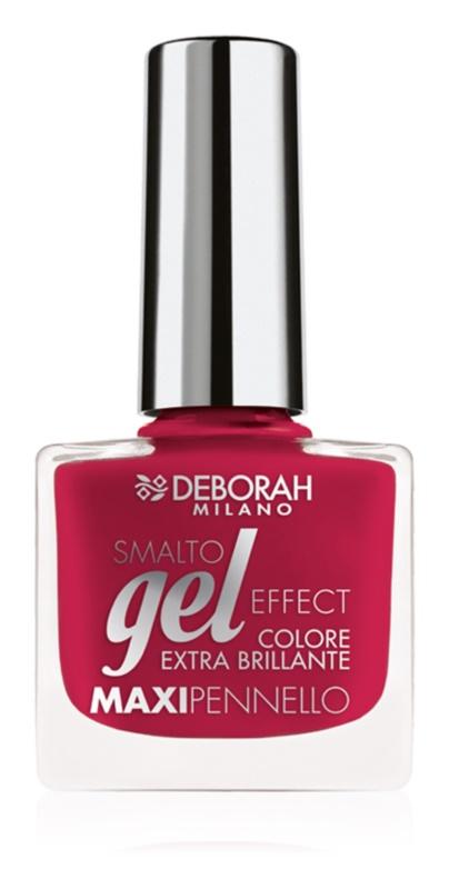 Deborah Milano Smalto Gel Effect Gel-Effect Nail Varnish