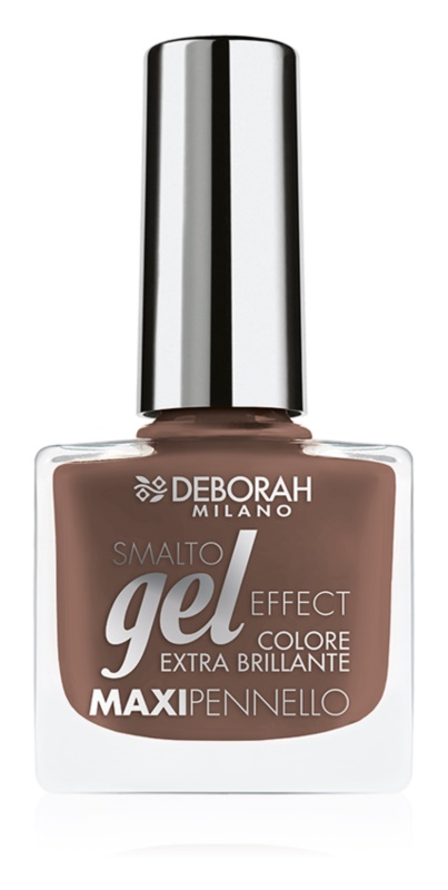 Deborah Milano Smalto Gel Effect lek na nechty s gélovým efektom