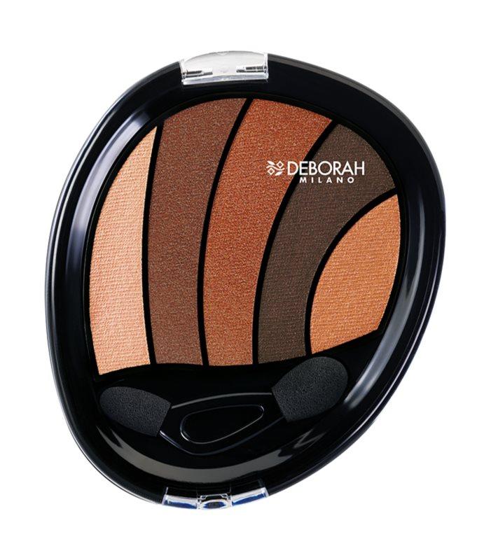 Deborah Milano Perfect Smokey Eye тіні для повік з аплікатором