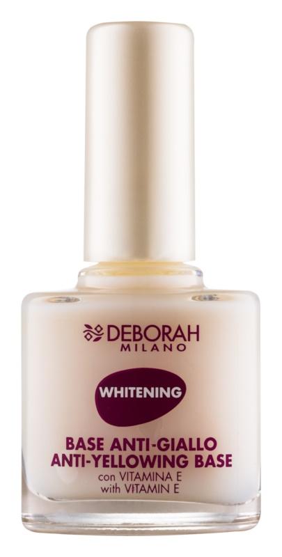 Deborah Milano Nail Care lac de unghii cu efect de albire