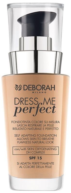 Deborah Milano Dress Me Perfect machiaj natural SPF 15