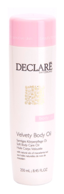 Declaré Body Care кадифено масло за тяло