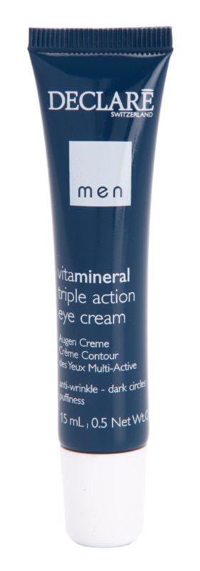 Declaré Men Vita Mineral Oogcrème  tegen Rimpels, Zwellingen en Donkere Kringen