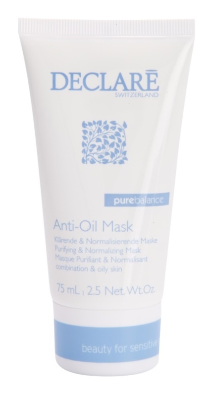 Declaré Pure Balance masque purifiant pour rendre la peau moins grasse