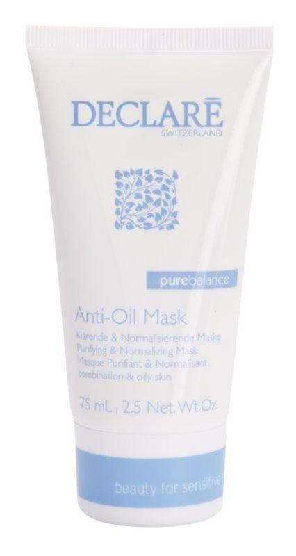 Declaré Pure Balance tisztító maszk a zsíros bőr redukálására