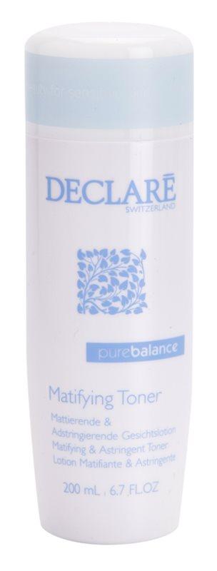 Declaré Pure Balance tonic astringent pentru curatare pentru a improspata porii si pielea cu aspect obosit