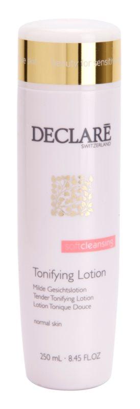 Declaré Soft Cleansing tonic bland de curatare pentru piele normala