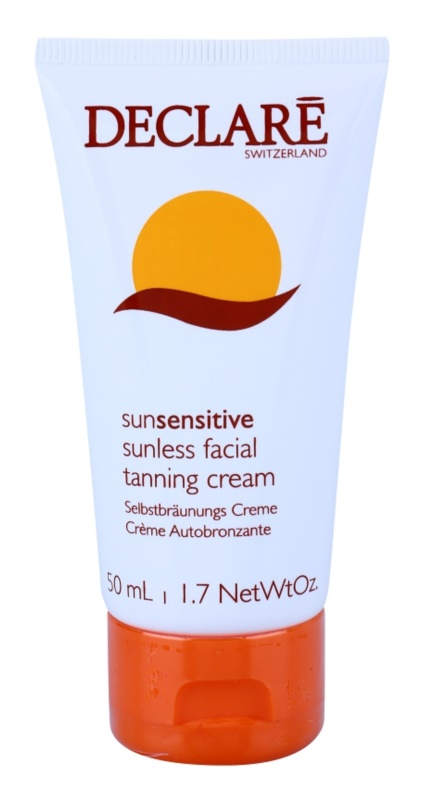 Declaré Sun Sensitive crème auto-bronzante visage