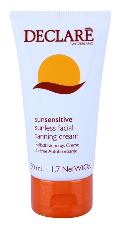 Declaré Sun Sensitive Zelfbruinende Gezichtscrème