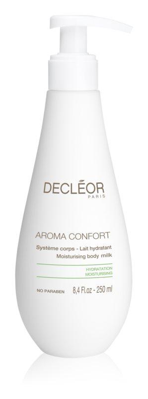 Decléor Aroma Confort nawilżające mleczko do ciała do skóry suchej