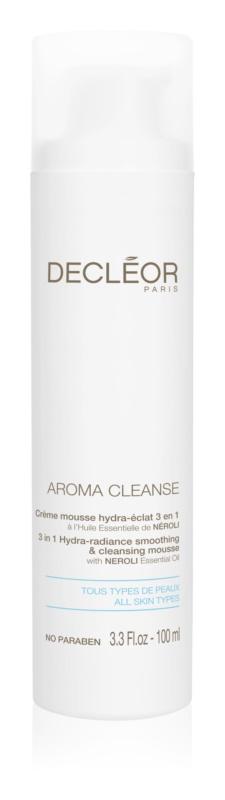 Decléor Aroma Cleanse изглаждаща и почистваща пяна 3 в 1