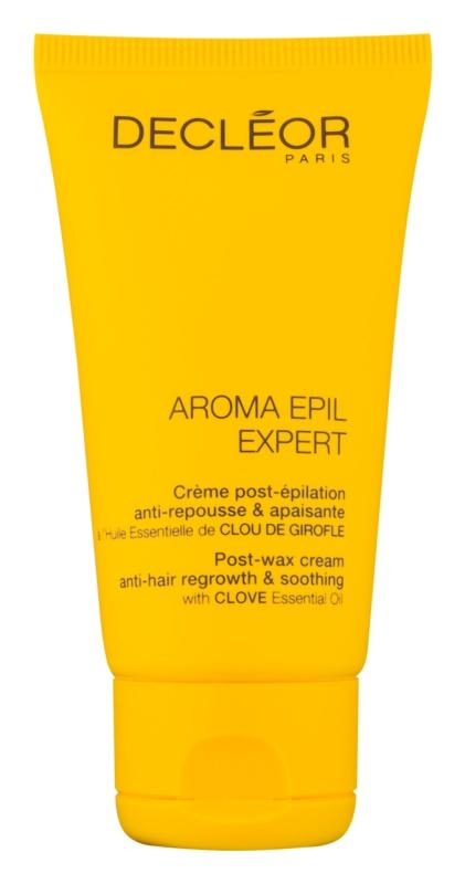 Decléor Aroma Epil Expert zklidňující krém po holení na zpomalení růstu chloupků