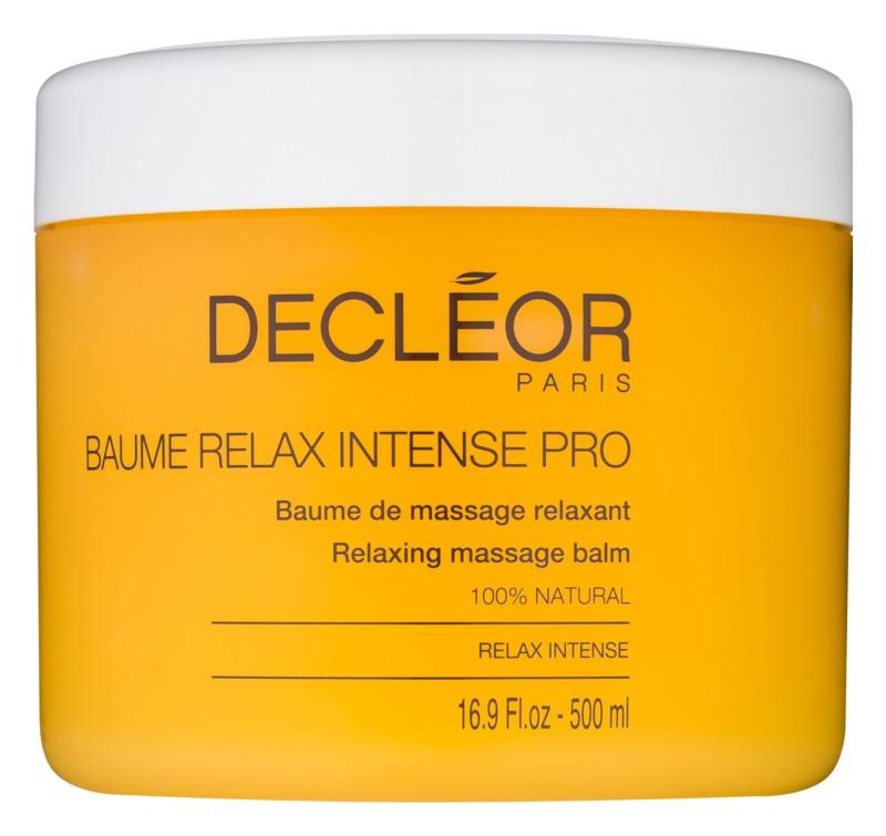 Decléor Relax Intense bálsamo de massagem relaxante com óleos essenciais