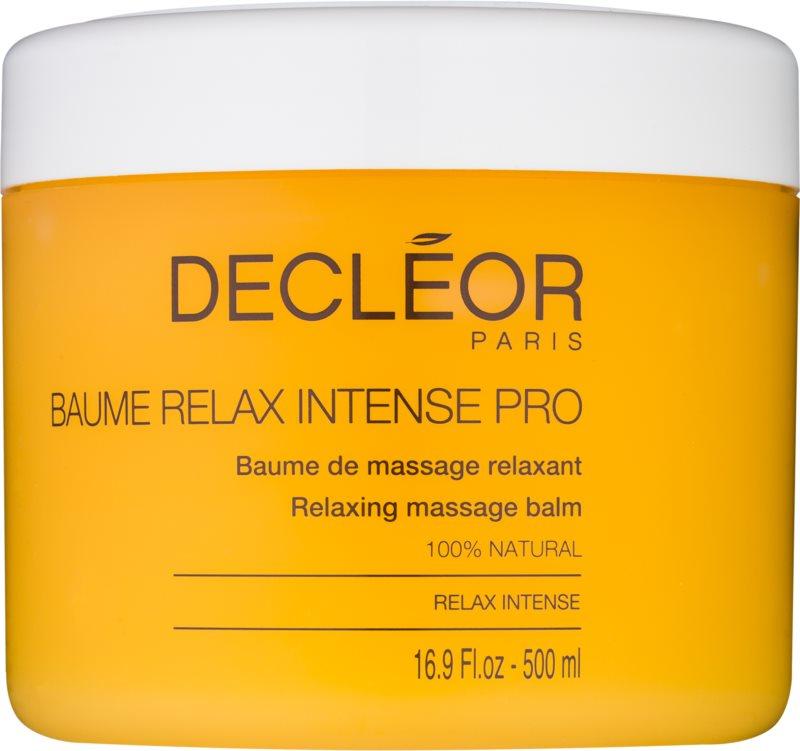 Decléor Relax Intense χαλαρωτικό βάλσαμο για μασάζ με αιθέρια έλαια