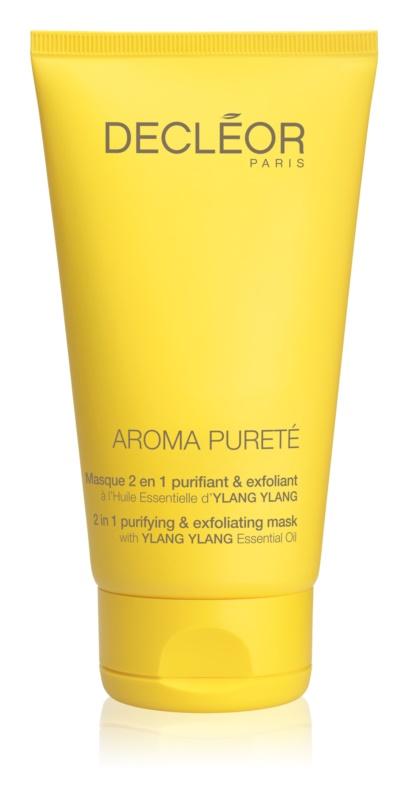 Decléor Aroma Pureté čistiaca a okysličujúca maska 2 v 1