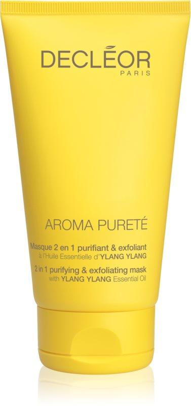 Decléor Aroma Pureté masca pentru curatare si oxigenare 2 in 1