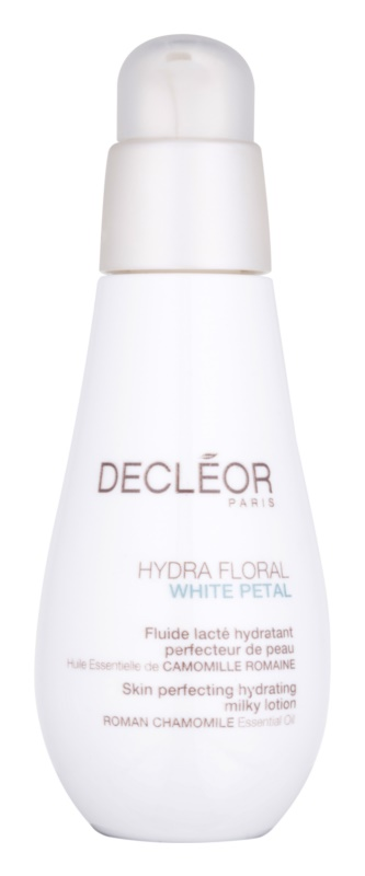 Decléor Hydra Floral White Petal Huid perfectionerend hydraterende melklotion