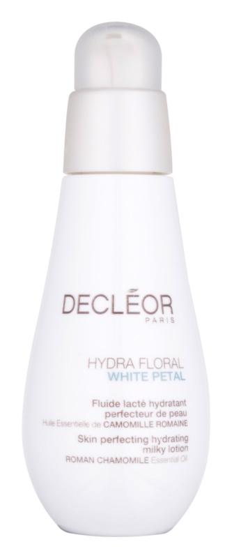 Decléor Hydra Floral White Petal loțiune hidratantă, pentru un ten perfect