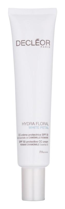 Decléor Hydra Floral White Petal CC krém SPF50