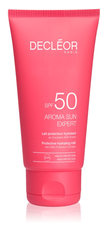 Decléor Aroma Sun Expert crème solaire visage anti-rides SPF50
