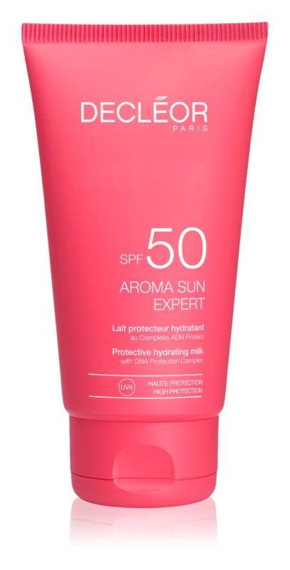 Decléor Aroma Sun Expert opalovací krém na obličej s protivráskovým účinkem SPF 50