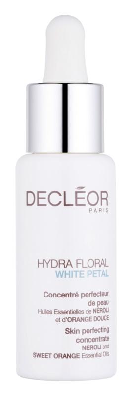 Decléor Hydra Floral White Petal koncentratu z efektem nawilżającym o dzłałaniu nawilżającym