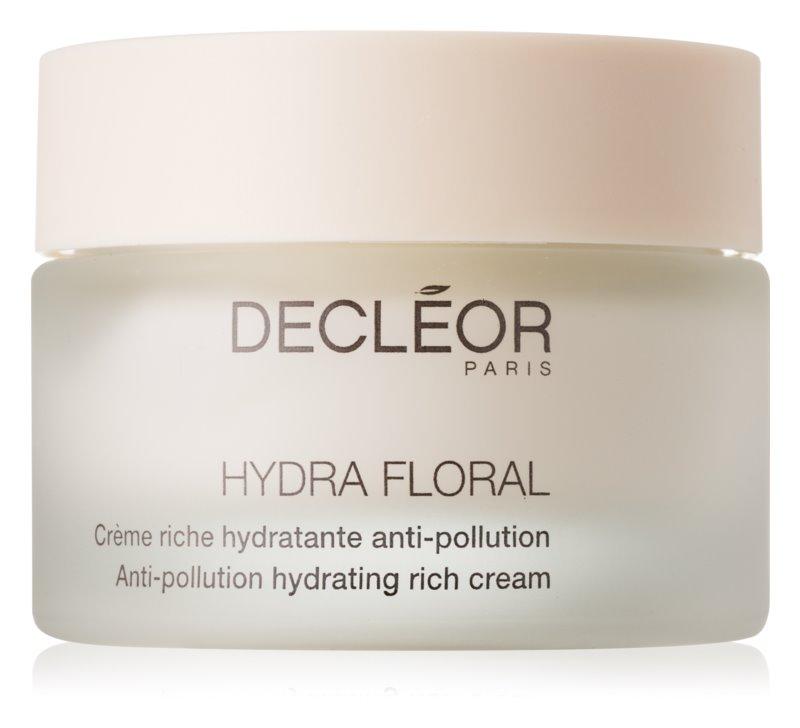 Decléor Hydra Floral bogata vlažilna krema za suho kožo