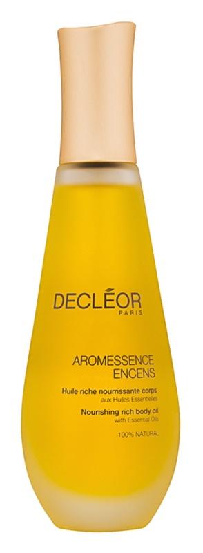 Decléor Aromessence Encens tápláló olaj Száraz, nagyon száraz bőrre