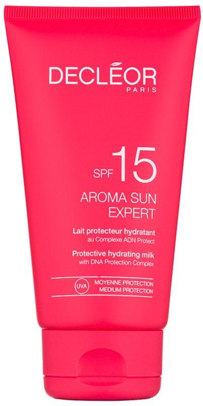 Decléor Aroma Sun Expert hydratační mléko na opalování SPF 15