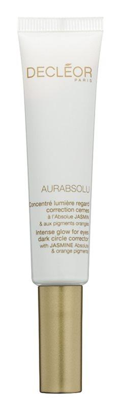 Decléor Aurabsolu gel de olhos iluminador  anti-olheiras