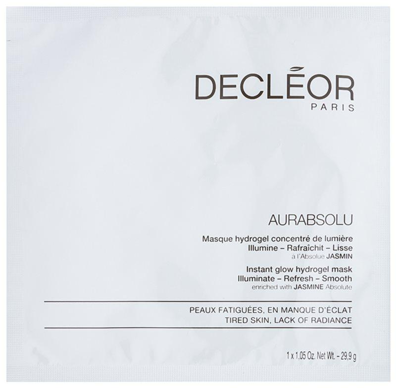 Decléor Aurabsolu Hydro-Gel Maske für klare und glatte Haut