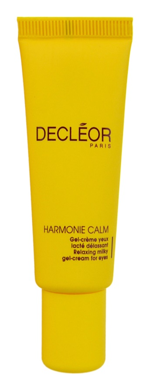 Decléor Harmonie Calm Organic szemkörnyékápoló krém-gél a duzzanatokra és a sötét karikákra