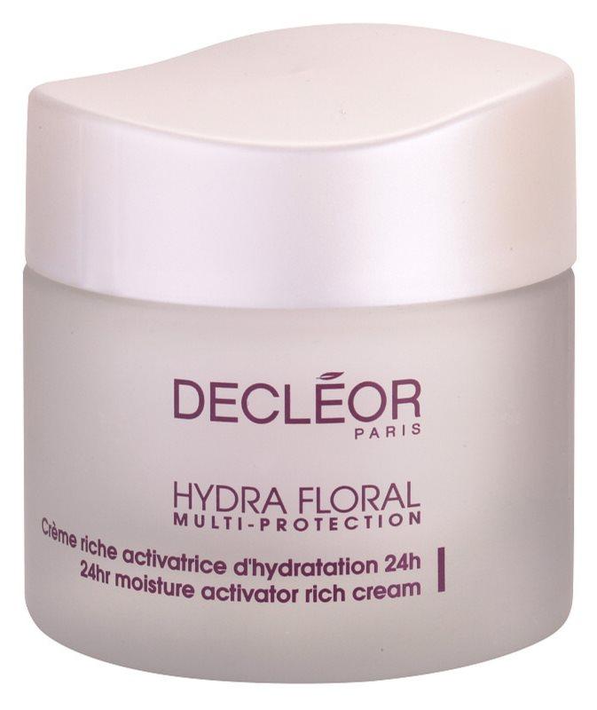 Decléor Hydra Floral bogata vlažilna krema za normalno in suho kožo