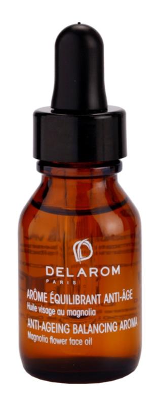 Delarom Anti Ageing aceite facial antienvejecimiento con aroma de flor de magnolia