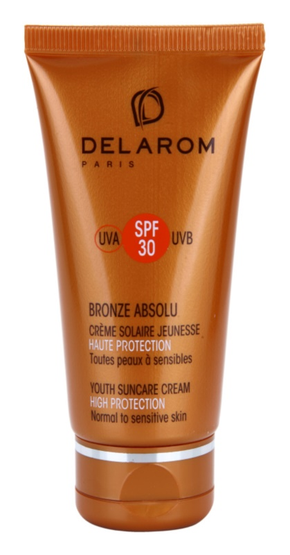 Delarom Bronze Absolu verjüngende und schützende Tagescreme SPF30