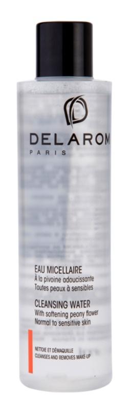 Delarom Cleaning and Removing reinigendes Gesichtswasser mit Pfingstrosen-Softer